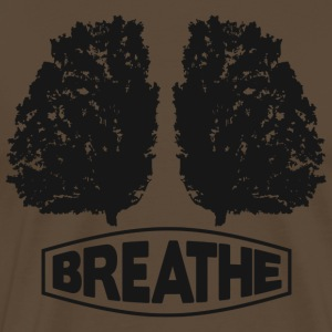 Breathe - Men's Premium T-Shirt