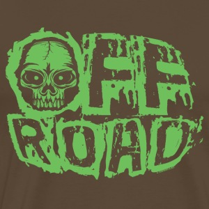 11A-13 OFF ROAD SKULL - Men's Premium T-Shirt