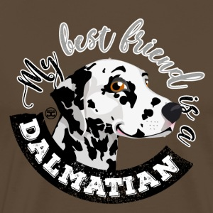My Best Friend is a... Dalmatian - Camiseta premium hombre