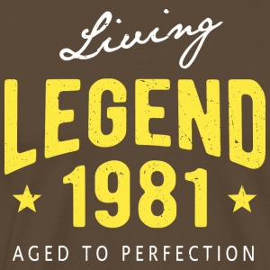 Living Legend 1981 - Männer Premium T-Shirt