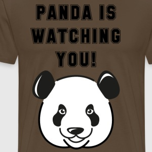 Panda is watching you - Männer Premium T-Shirt