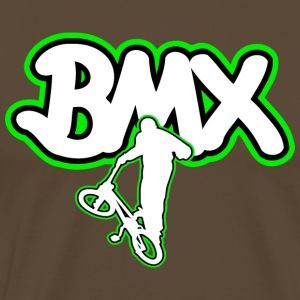 BMX bicycle logo gift - Men's Premium T-Shirt