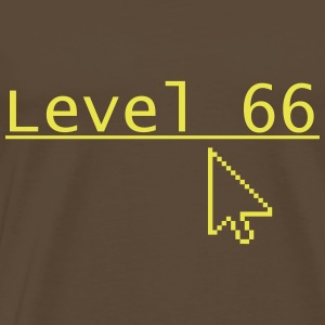 Level 66 - Herre premium T-shirt