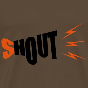 shout - Men's Premium T-Shirt