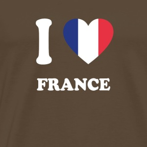 i love home gift country FRANCE - Men's Premium T-Shirt