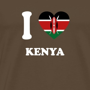 i love home gift country KENYA - Men's Premium T-Shirt