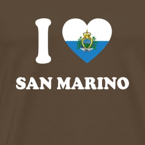 i love home gift land SAN MARINO - Men's Premium T-Shirt