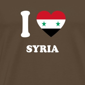 i love home gift country SYRIA - Men's Premium T-Shirt