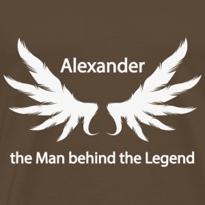 Alexander the Man behind the Legend - Männer Premium T-Shirt