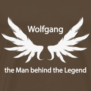 Wolfgang the Man behind the Legend - Männer Premium T-Shirt