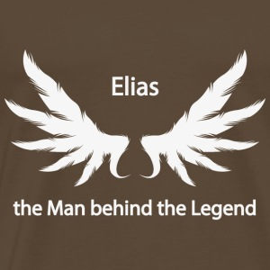 Elias Man Behind the Legend - Koszulka męska Premium