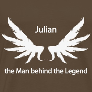 Julian the Man behind the Legend - Männer Premium T-Shirt