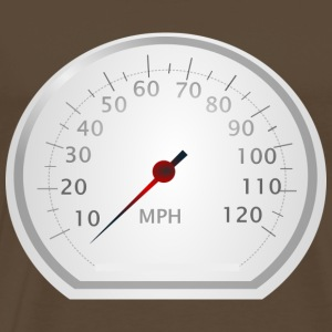 speedometer - Premium T-skjorte for menn