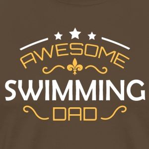Swimming dad - Männer Premium T-Shirt