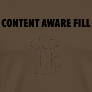 Content Aware Fill - This tool par excellence! - Men's Premium T-Shirt