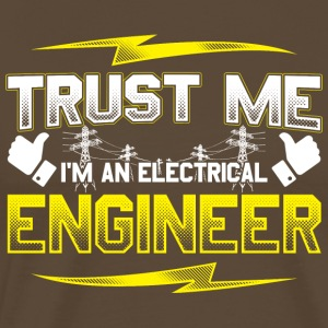 Engineer electric funny gift birthday - Men's Premium T-Shirt