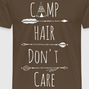 Camp Hair Do not Care - Mannen Premium T-shirt