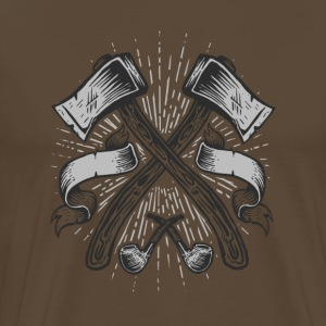Two Axes - Männer Premium T-Shirt
