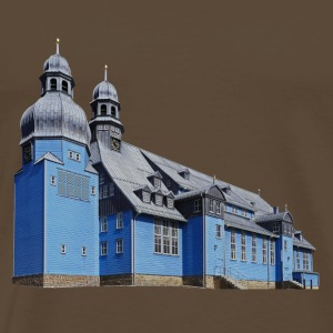 Market Church of the Holy Spirit Clausthal - Premium T-skjorte for menn