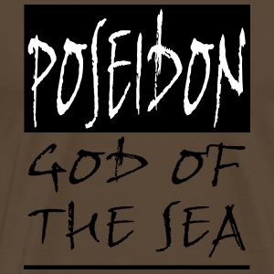 POSEIDON GOD OF THE SEA - Men's Premium T-Shirt