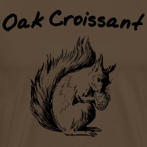 Oak Croissant - Men's Premium T-Shirt