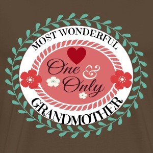 Baby Child Kid Granny most wonderfull grandmother - Männer Premium T-Shirt