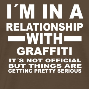 relationship with GRAFFITI - Men's Premium T-Shirt