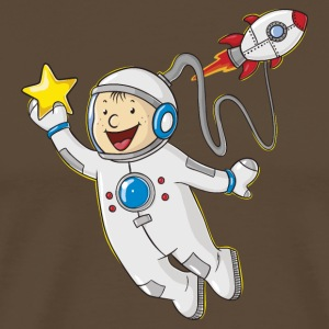Little comic astronaut - Men's Premium T-Shirt
