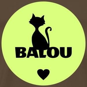 Balou Name cat name - Men's Premium T-Shirt