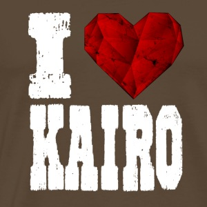 i love cairo heart gift tourist love travel - Men's Premium T-Shirt