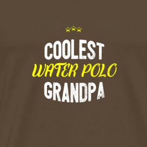 Distressed - COOLEST PAPA WATERPOLO - T-shirt Premium Homme