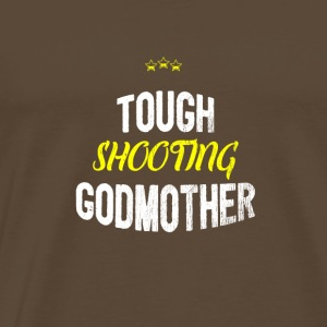 Distressed - GODMOTHER TIRO TOUGH - Maglietta Premium da uomo