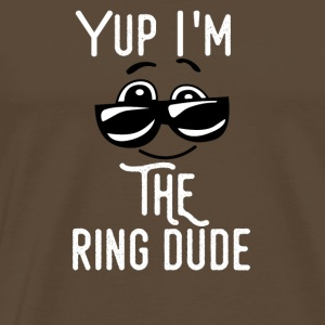 ring fat - Mannen Premium T-shirt
