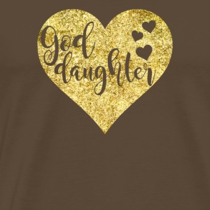 Goddaughter Golden Heart - T-shirt Premium Homme