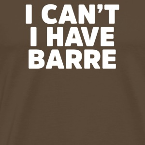 Barre - Men's Premium T-Shirt