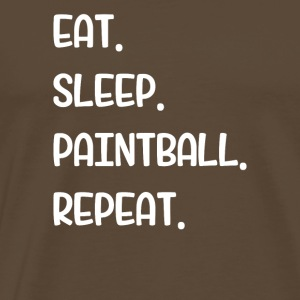 Mangez Sleep Paintball Repeat - T-shirt Premium Homme