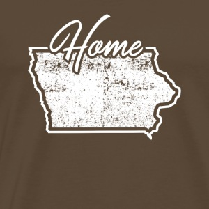Iowa tröja Iowa State Home - Premium-T-shirt herr