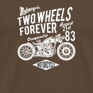 Two Wheels forever: The motorcycle racing UK 1983! - Men's Premium T-Shirt