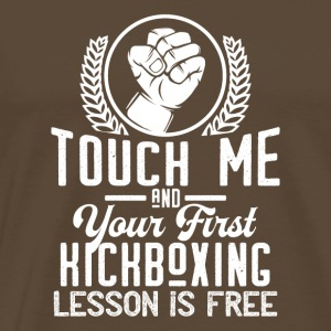 Touch me - first Kickboxing lesson free - white