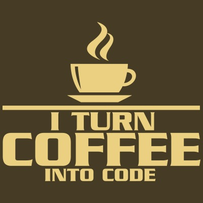 I turn coffe into code