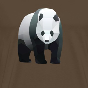 low poly panda - Men's Premium T-Shirt