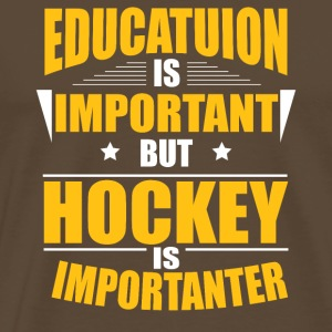 HOCKEY IS IMPORTANTER