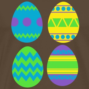 Easter eggs - Men's Premium T-Shirt