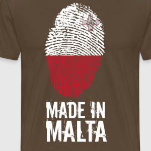 Made In Malta - Herre premium T-shirt