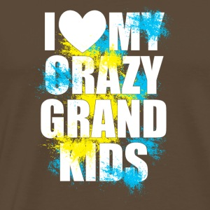 Grand mother / grand kids design - Männer Premium T-Shirt