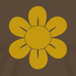 retro Flower - Mannen Premium T-shirt