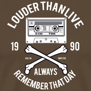 90s Louder Than Life - Men's Premium T-Shirt