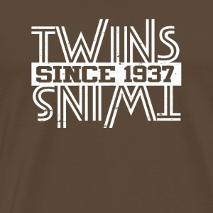 Twins Since 1937 - Men's Premium T-Shirt
