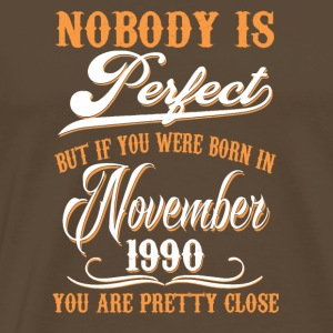 If You Born In November 1990 - Men's Premium T-Shirt