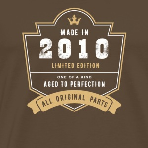 Made In 2010 Limitierte Auflage Alle Originalteile - Männer Premium T-Shirt